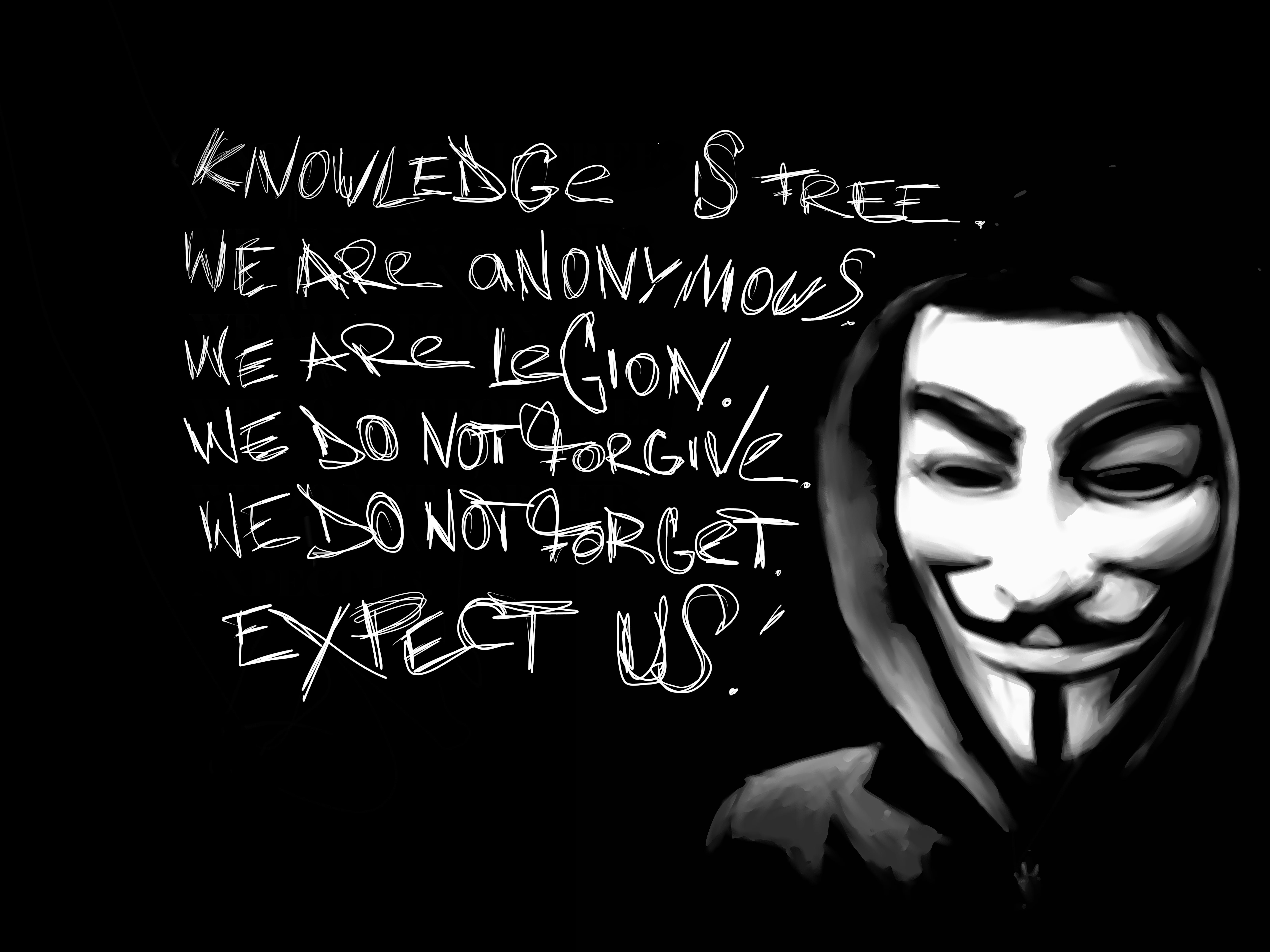 Hashtag 5: Anonymous