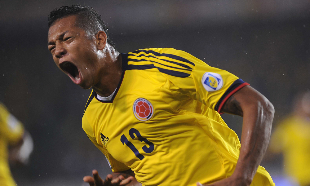 Fredy Guarín Colombia