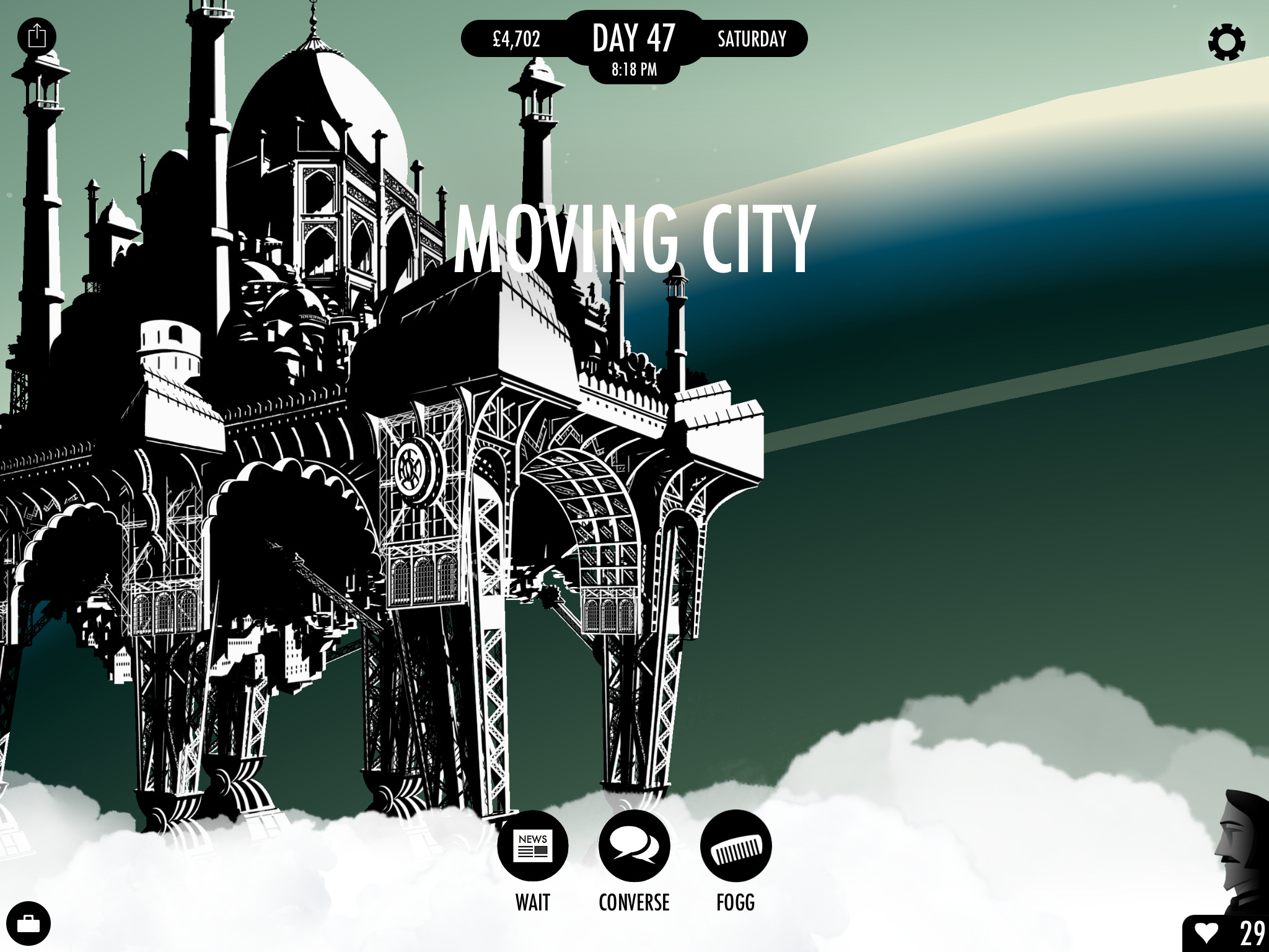 80 Days Moving City