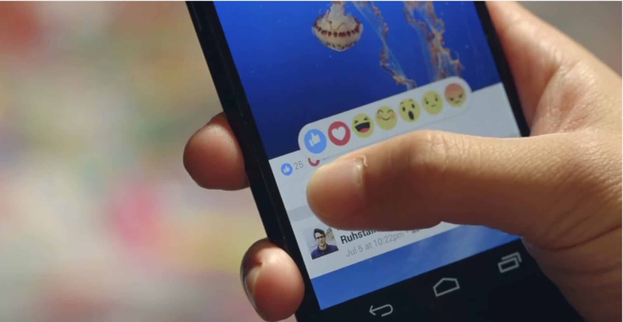 Facebook Reactions Demo