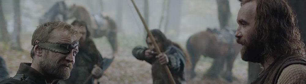 GOT recap Sandor Clegane Beric Dondarrion