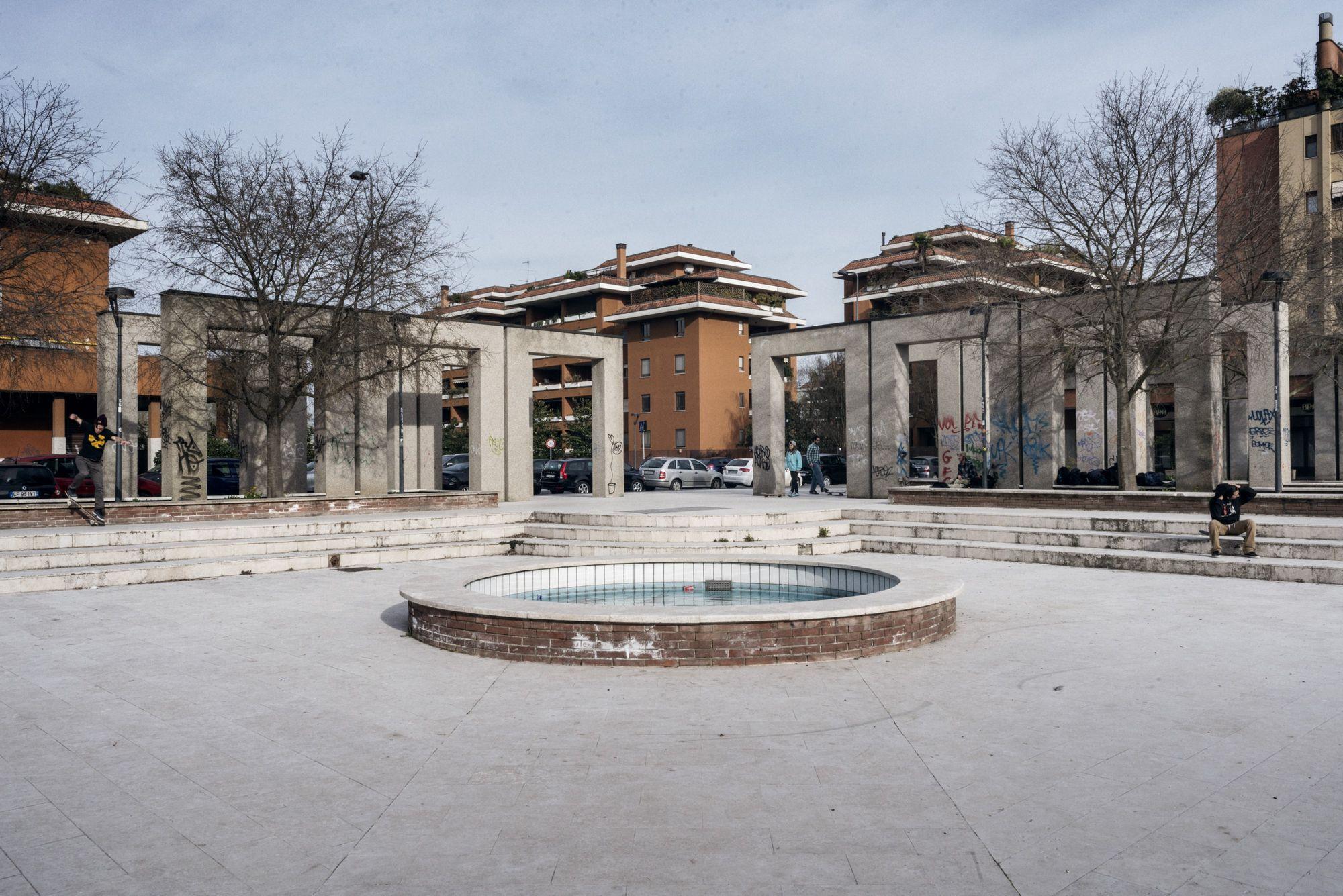 Immagine del quartiere Gratosoglio di Milano