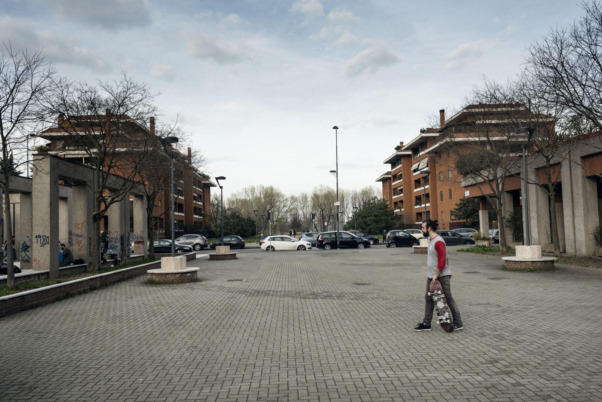 Immagine del quartiere Gratosoglio di Milano.