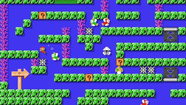 Super Mario Maker su Prismo